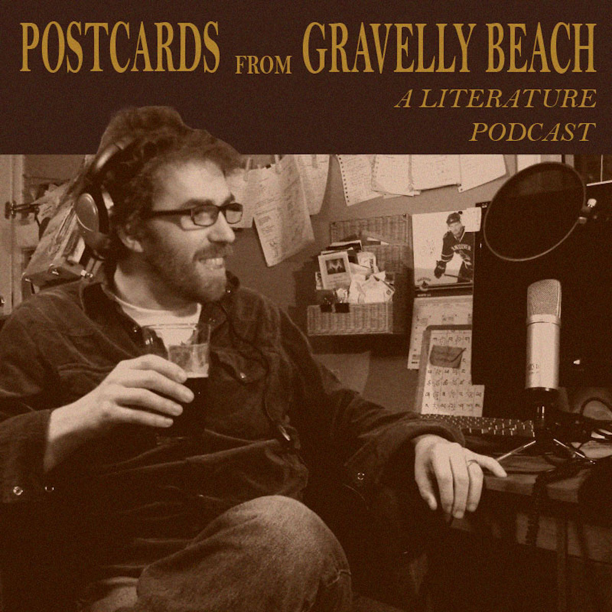 Postcards from Gravelly Beach Logo