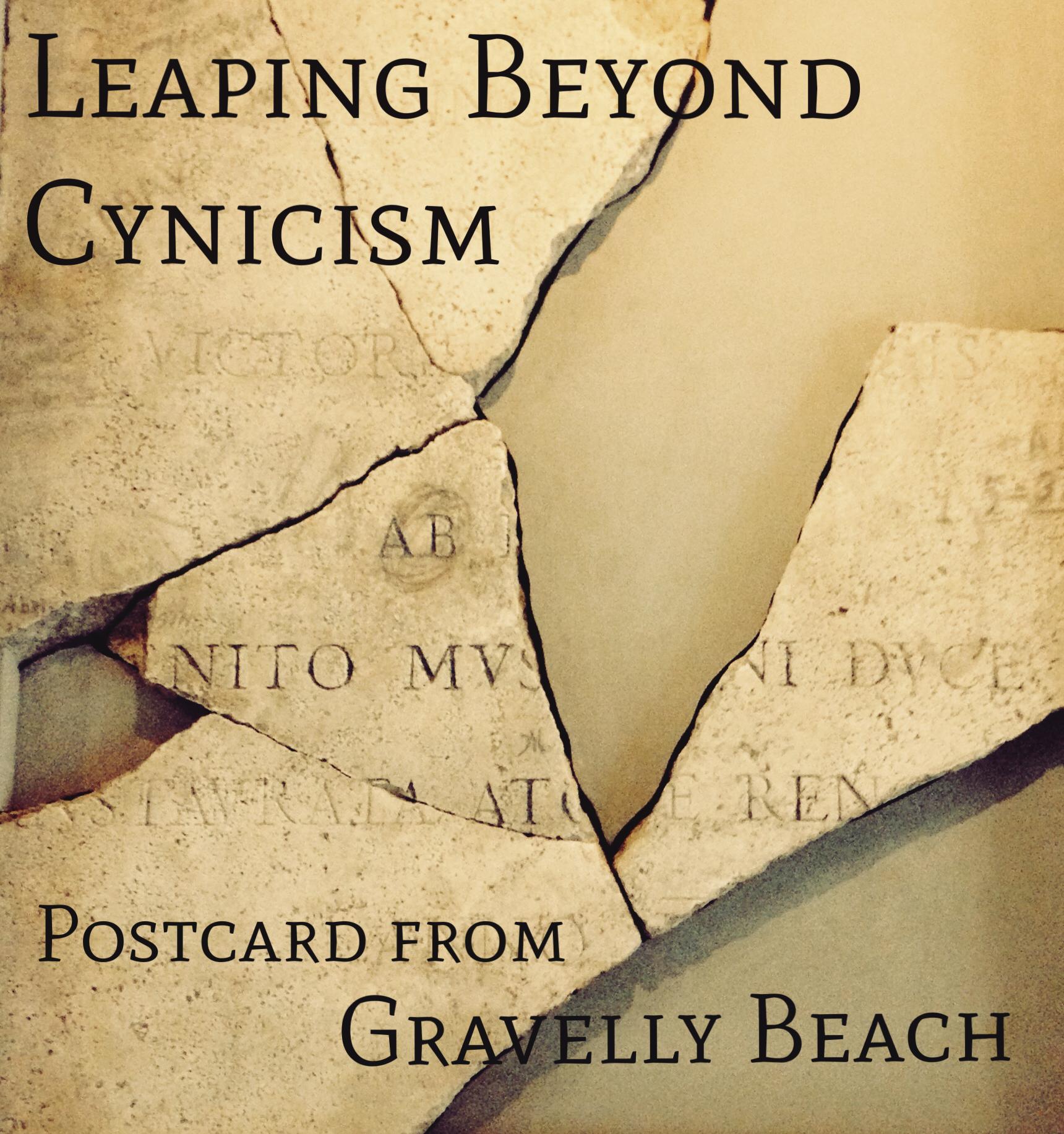 leaping beyong cynicism